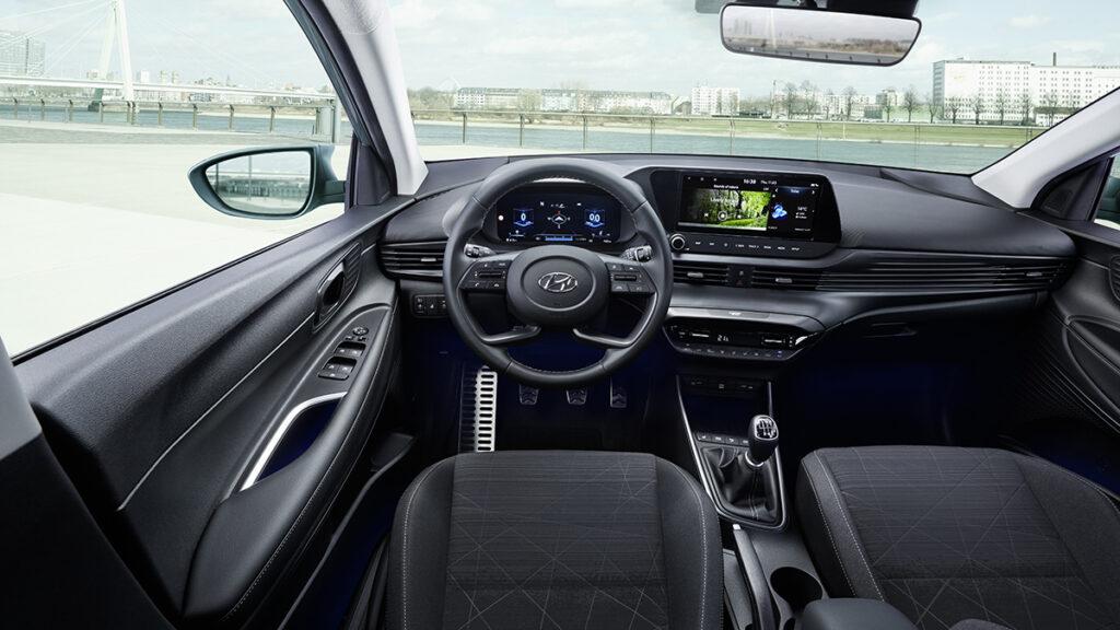 Interior del Hyundai Bayon