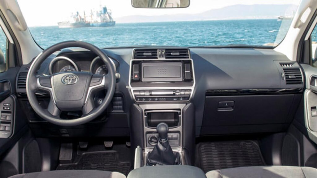 Salpicadero del Toyota LJ150
