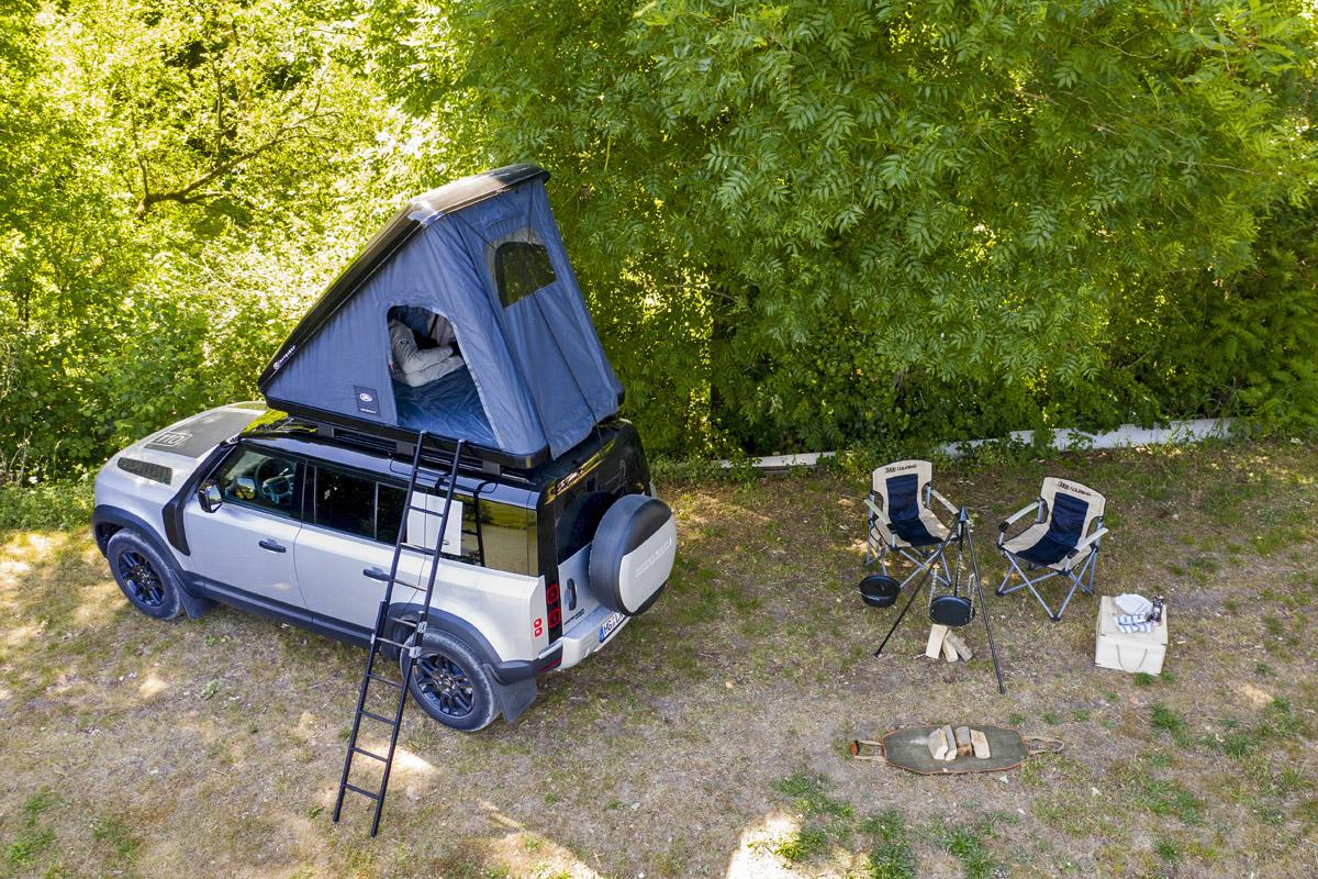 ROOFTENT al estilo Land Rover