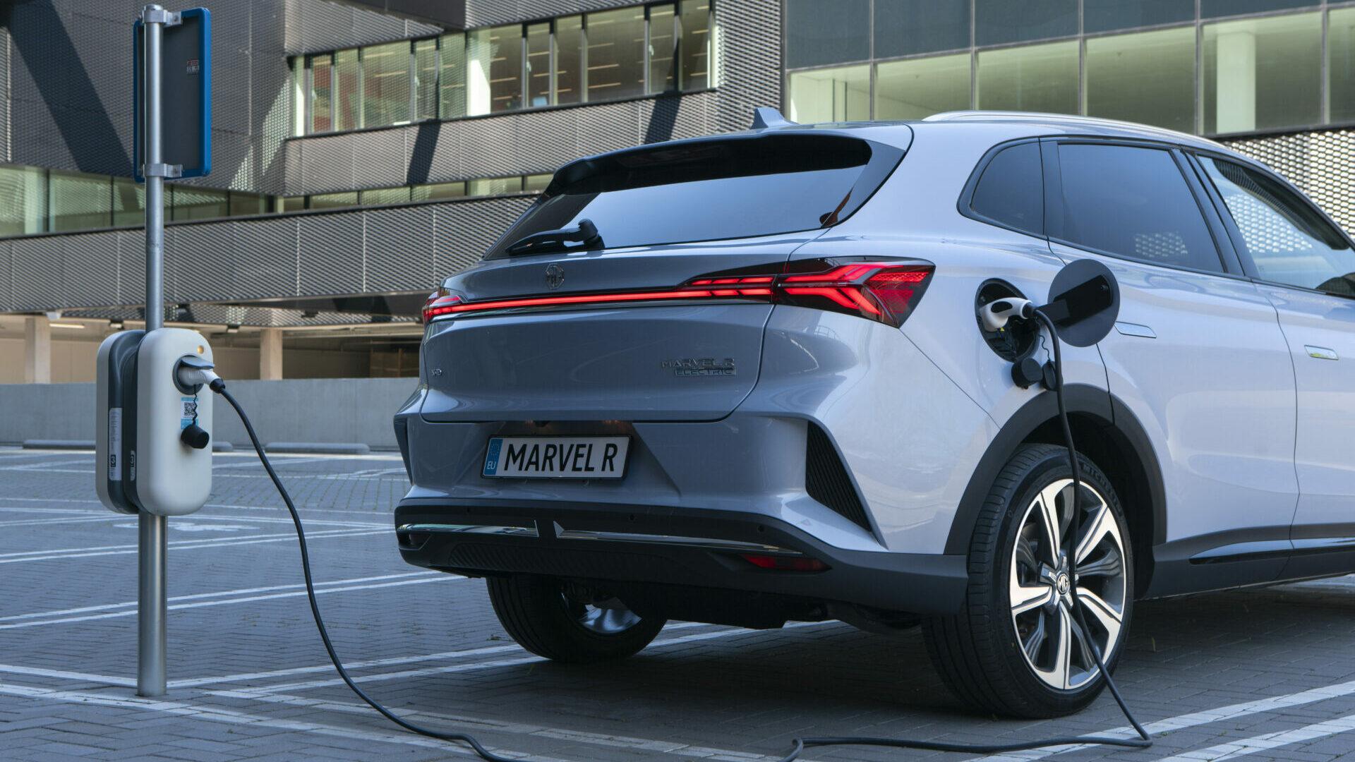 Nuevo MG Marvel R Electric: luz verde a los primeros pedidos del todocamino eléctrico