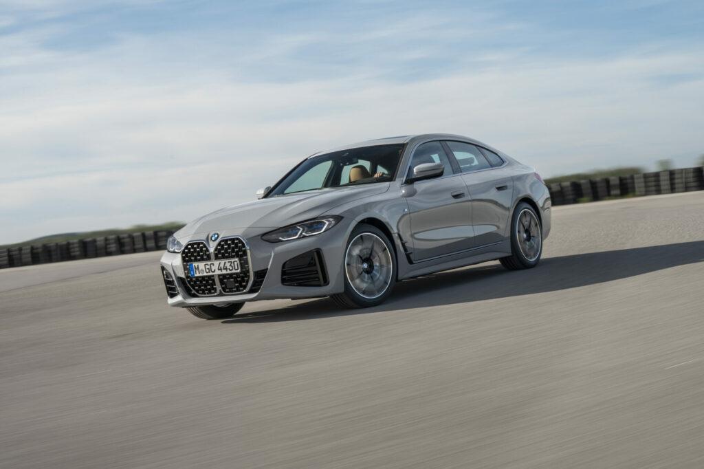 BMW Serie 4 Gran Coupé en acción