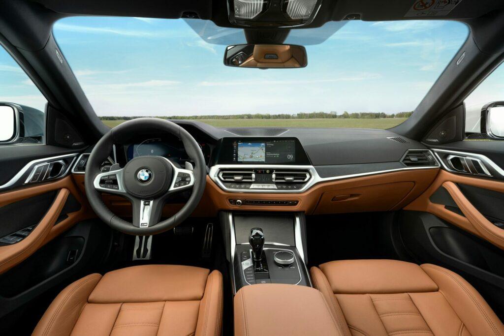 BMW Serie 4 Gran Coupé interior