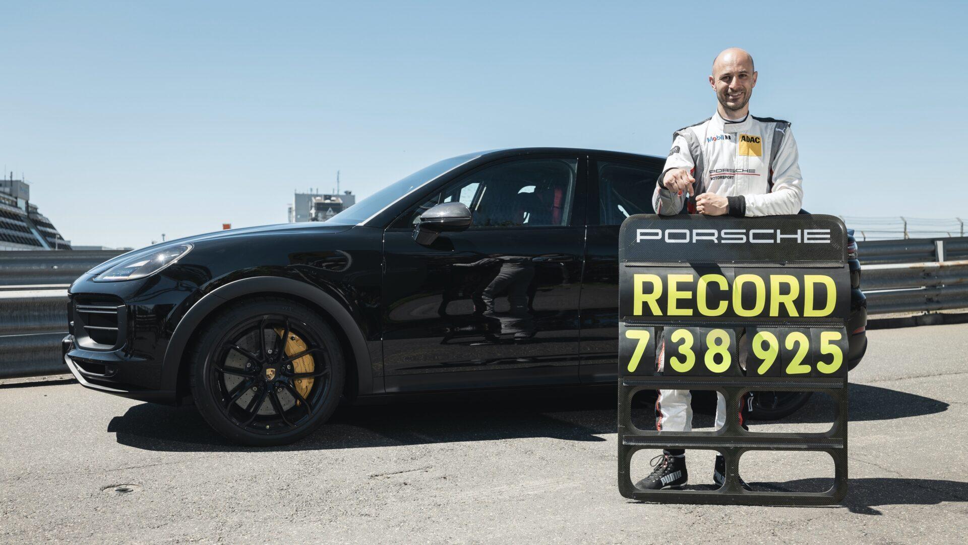 El nuevo Porsche Cayenne se convierte en el SUV más rápido en Nürburgring