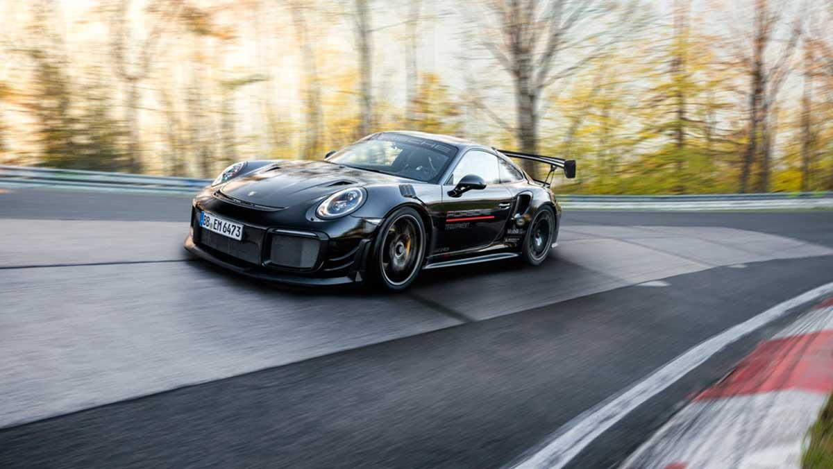 Nürburgring Porsche récord