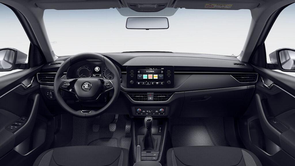 Skoda Kamiq Clever interior