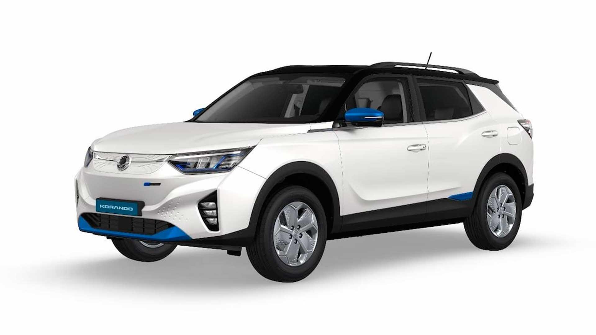 SsangYong Korando e-Motion: filtrada la versión 100% eléctrica del SUV coreano