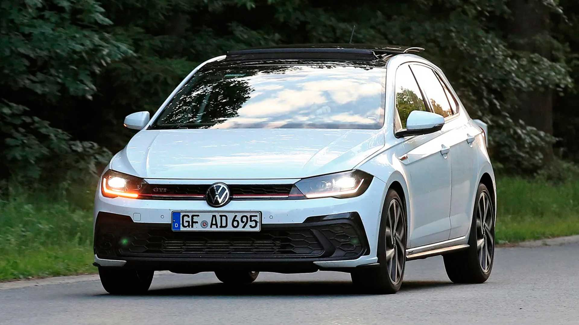 Fotos espía del Volkswagen Polo GTI 2021: el rival del Ford Fiesta ST se renueva