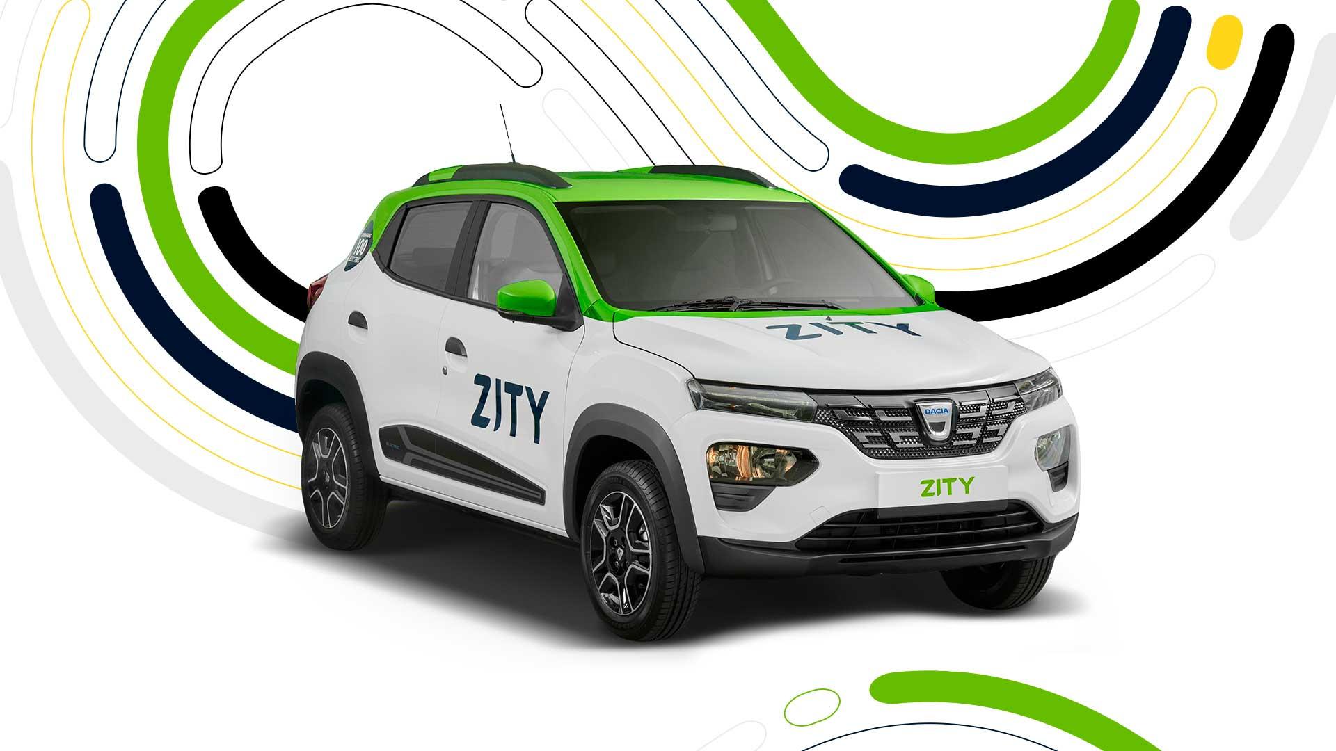El nuevo Dacia Spring pasa a formar parte de la flota de Zity