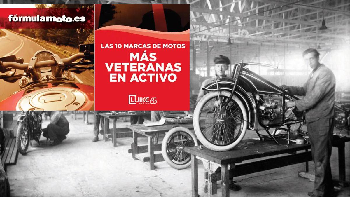 Descarga GRATIS nuestra guía con las 10 marcas de motos más veteranas en activo
