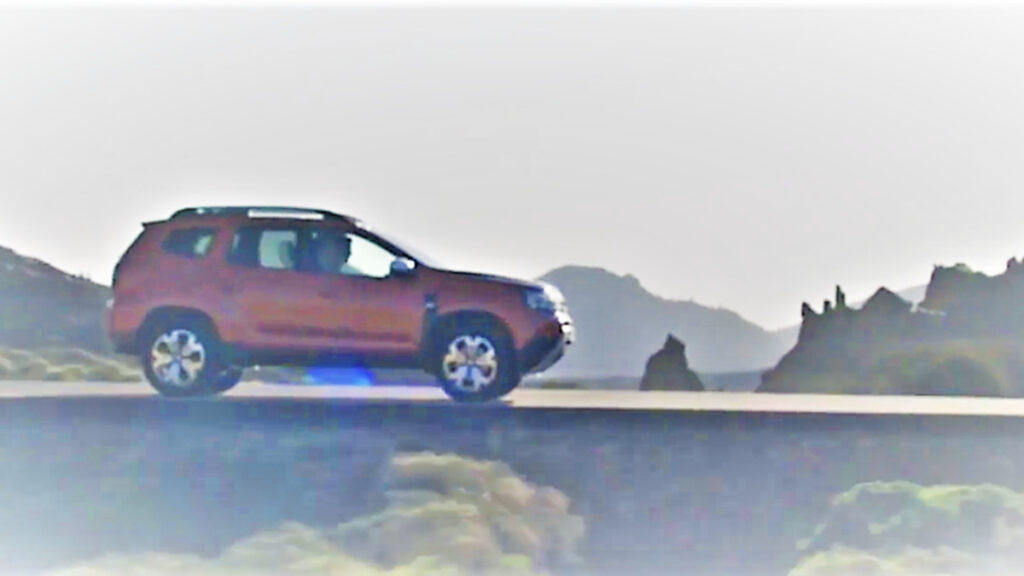 Dacia Duster filtrado