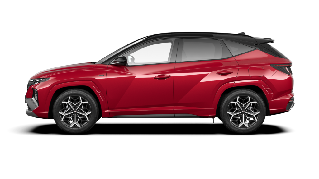 Hyundai Tucson N Line Rojo