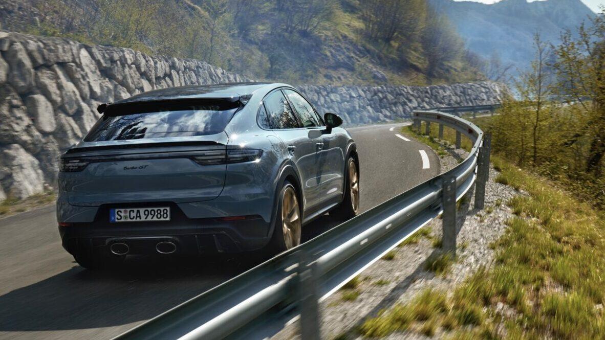 Nuevo Porsche Cayenne Turbo GT trasera