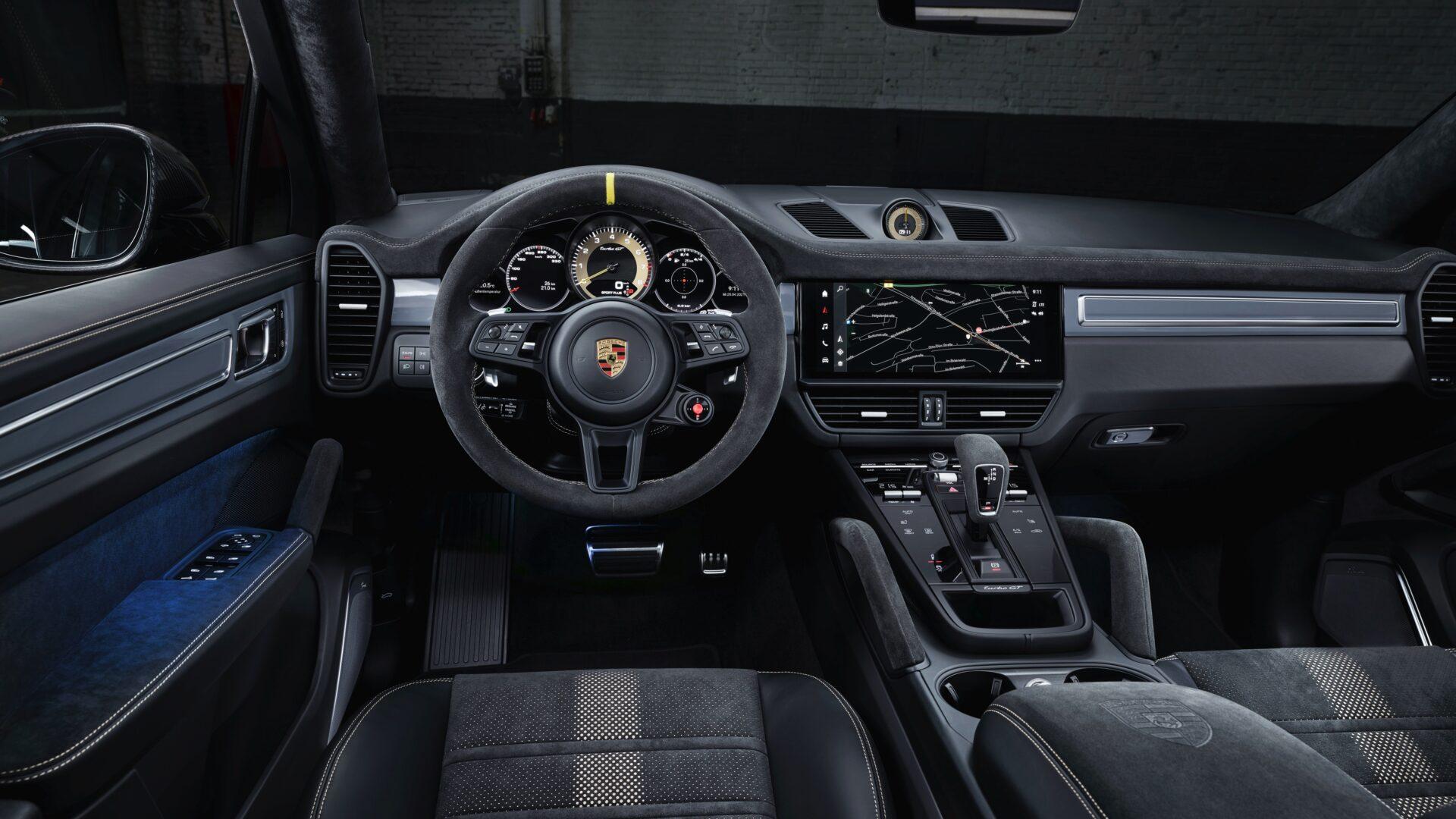 Nuevo Porsche Cayenne Turbo GT interior