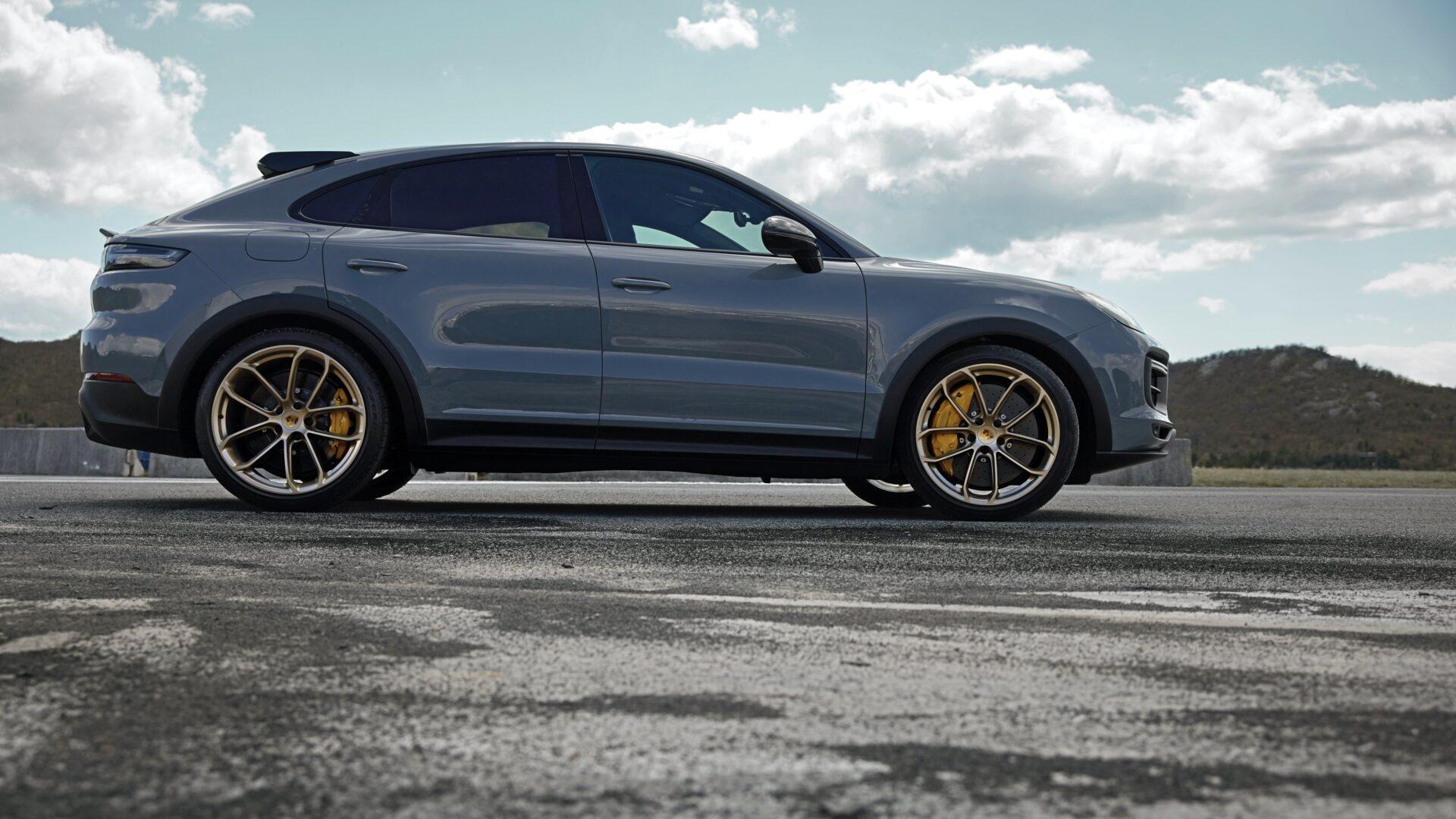 Nuevo Porsche Cayenne Turbo GT perfil