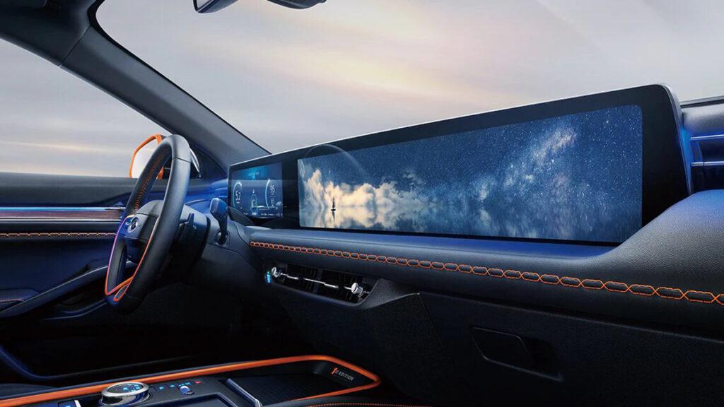 Interior Ford EVOS ST Line
