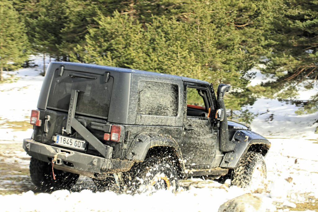 Jeep Wrangler JK Barquilla