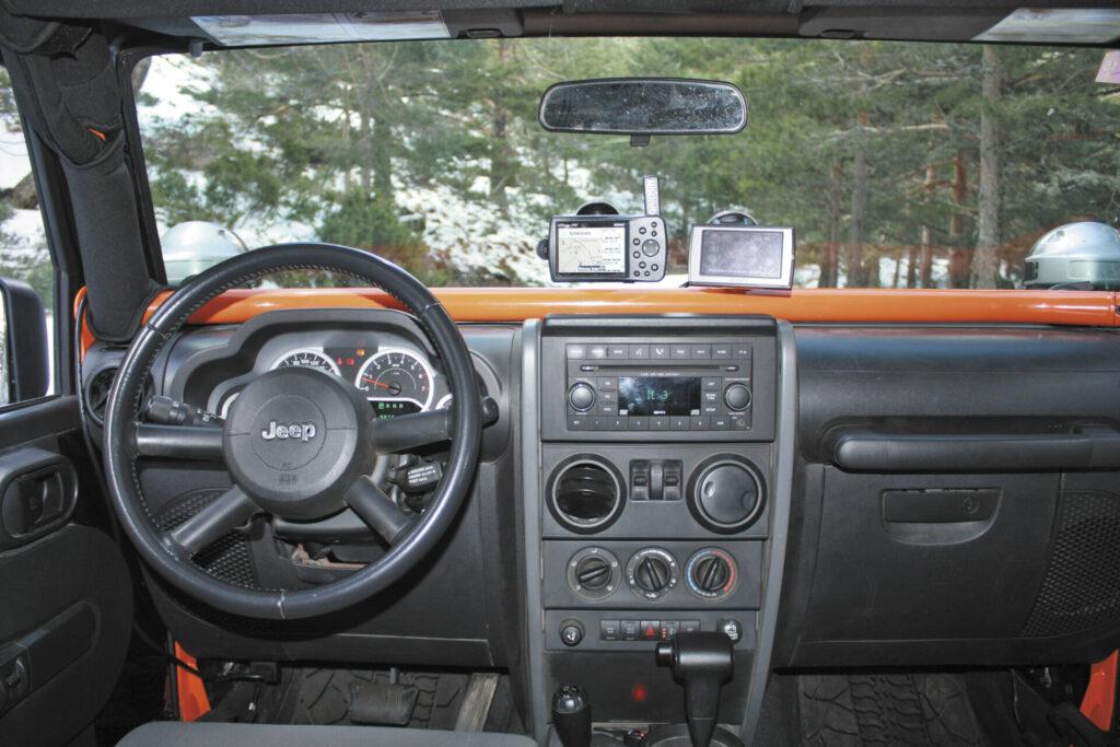 Jeep wrangler barquilla