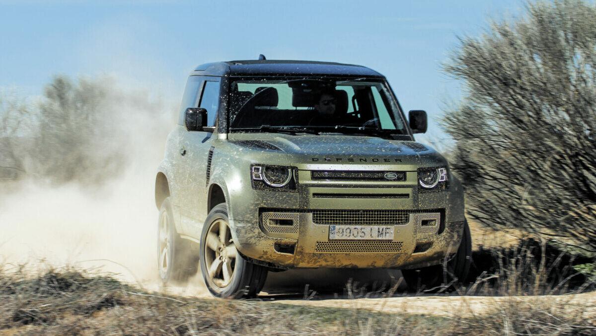 Prueba Land Rover Defender 90 P400 2021: el hijo de la sombra