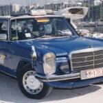 2. Mercedes W115 200D: 4,6 millones de kilómetros