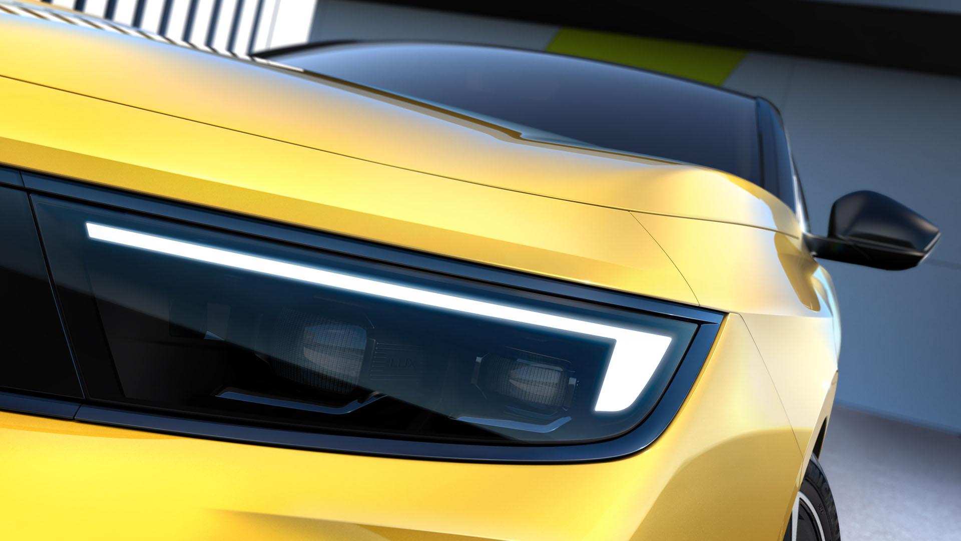 El nuevo Opel Astra 2022 al descubierto: primeras imágenes de la sexta generación