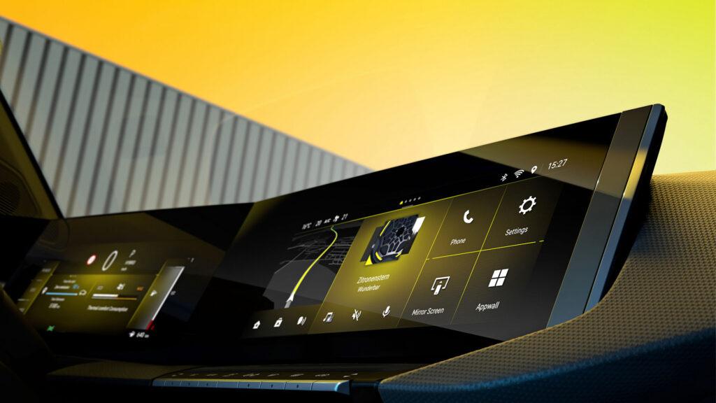 Opel Astra 2022 pantallas