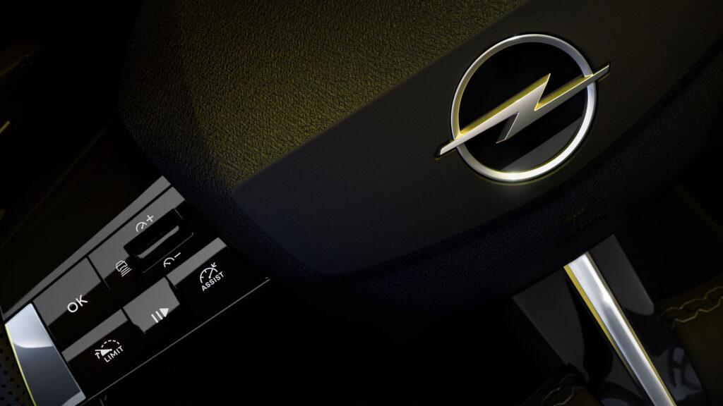opel Astra 2022 volante