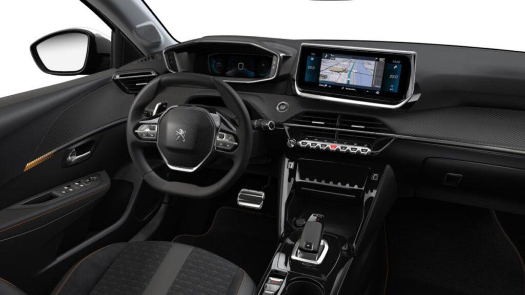 Peugeot 208 Road Trip interior
