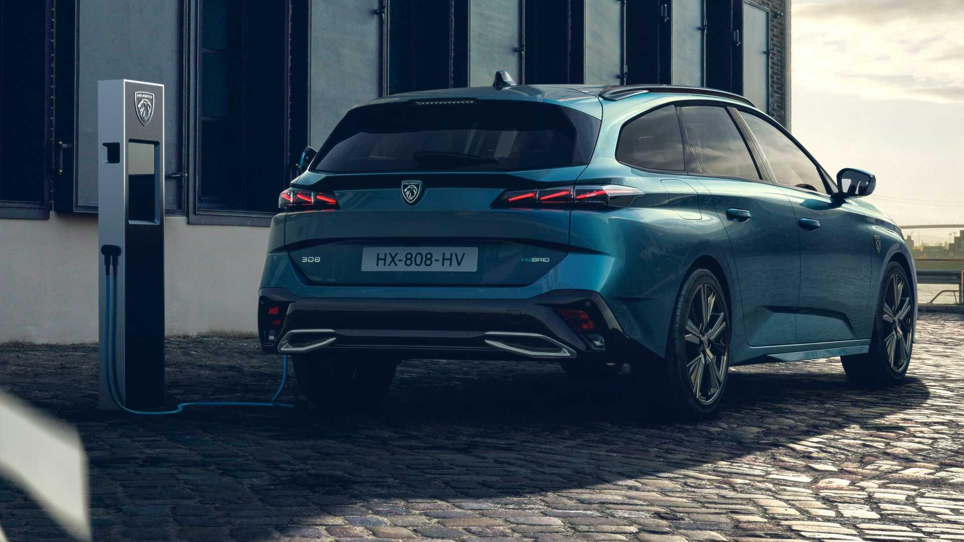 Nuevo Peugeot 308 SW 2021: llega la versión más práctica
