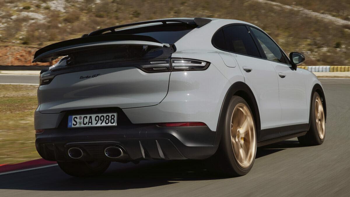 Nuevo Porsche Cayenne Turbo GT 2021: 640 CV para el SUV más rápido en Nürburgring