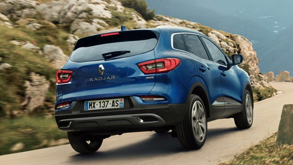 Renault kadjar 2021 trasera