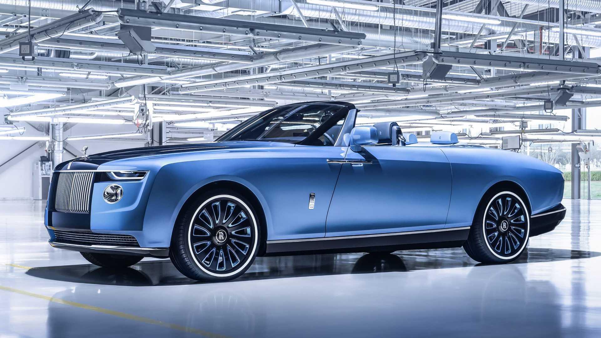 Rolls Royce Boat Tail 2021: un yate de lujo para el asfalto