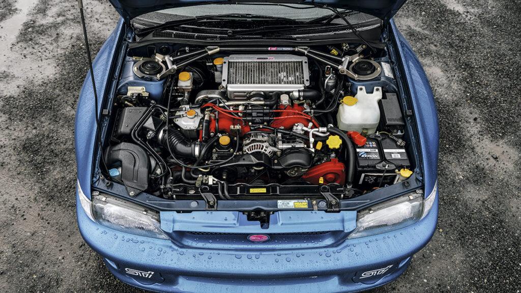subaru impreza b22 motor