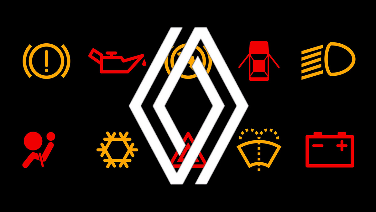 ¿Qué significan los testigos de los coches Renault?