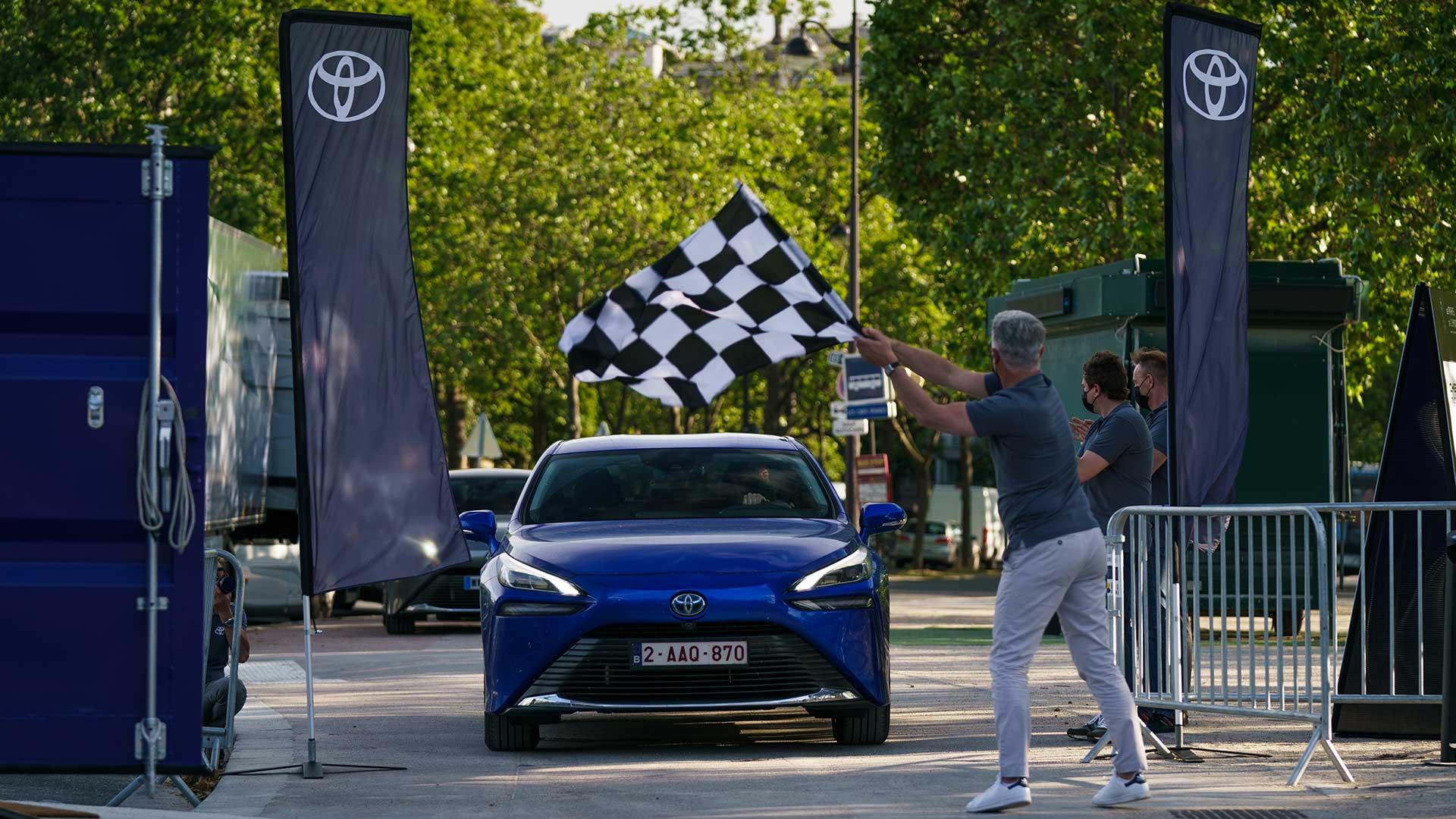 El nuevo Toyota Mirai 2021, récord mundial de autonomía para un coche de hidrógeno: más de 1.000 kilómetros