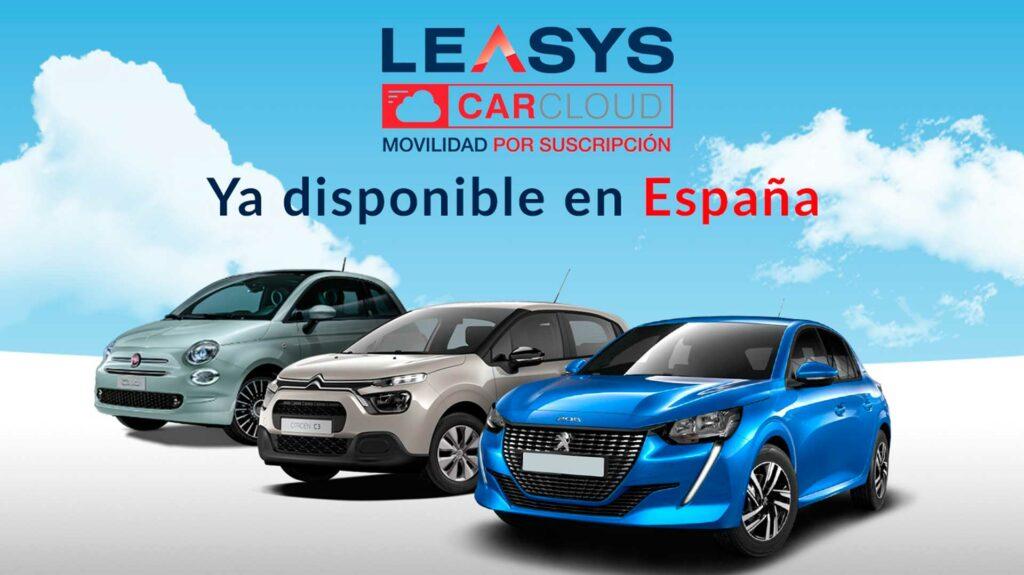 coche por suscripcion leasys-carcloud stellantis