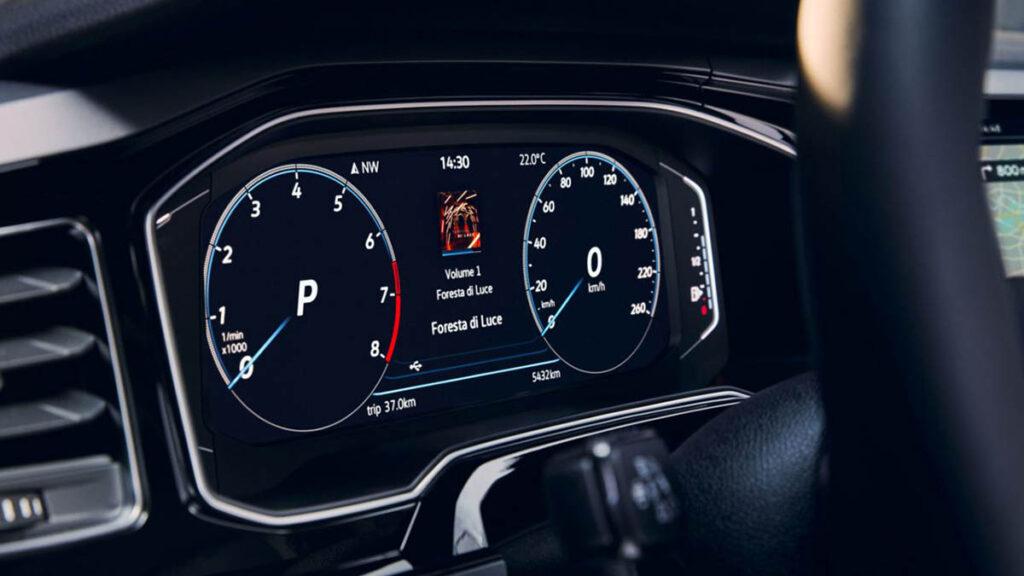 Volkswagen polo 2021 instrumentación