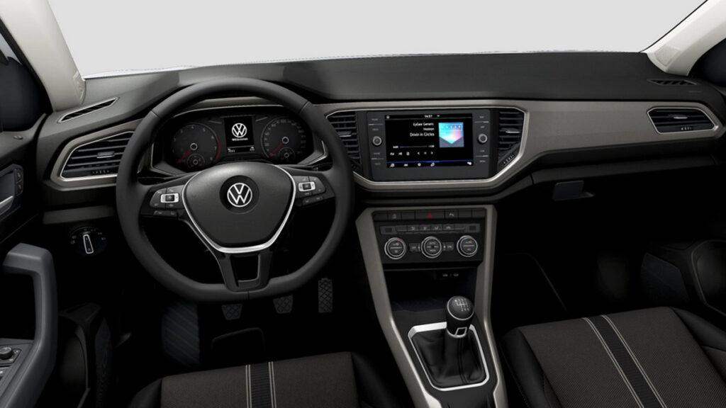 Volkswagen T Roc interior