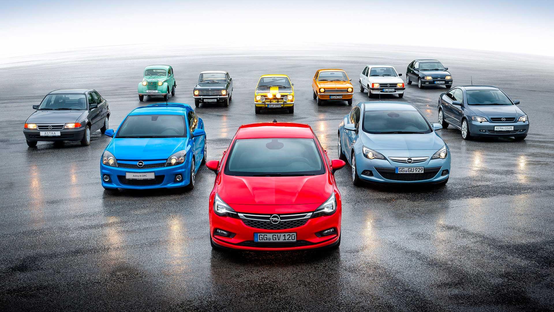 La historia del Opel Astra, el sucesor del Kadett