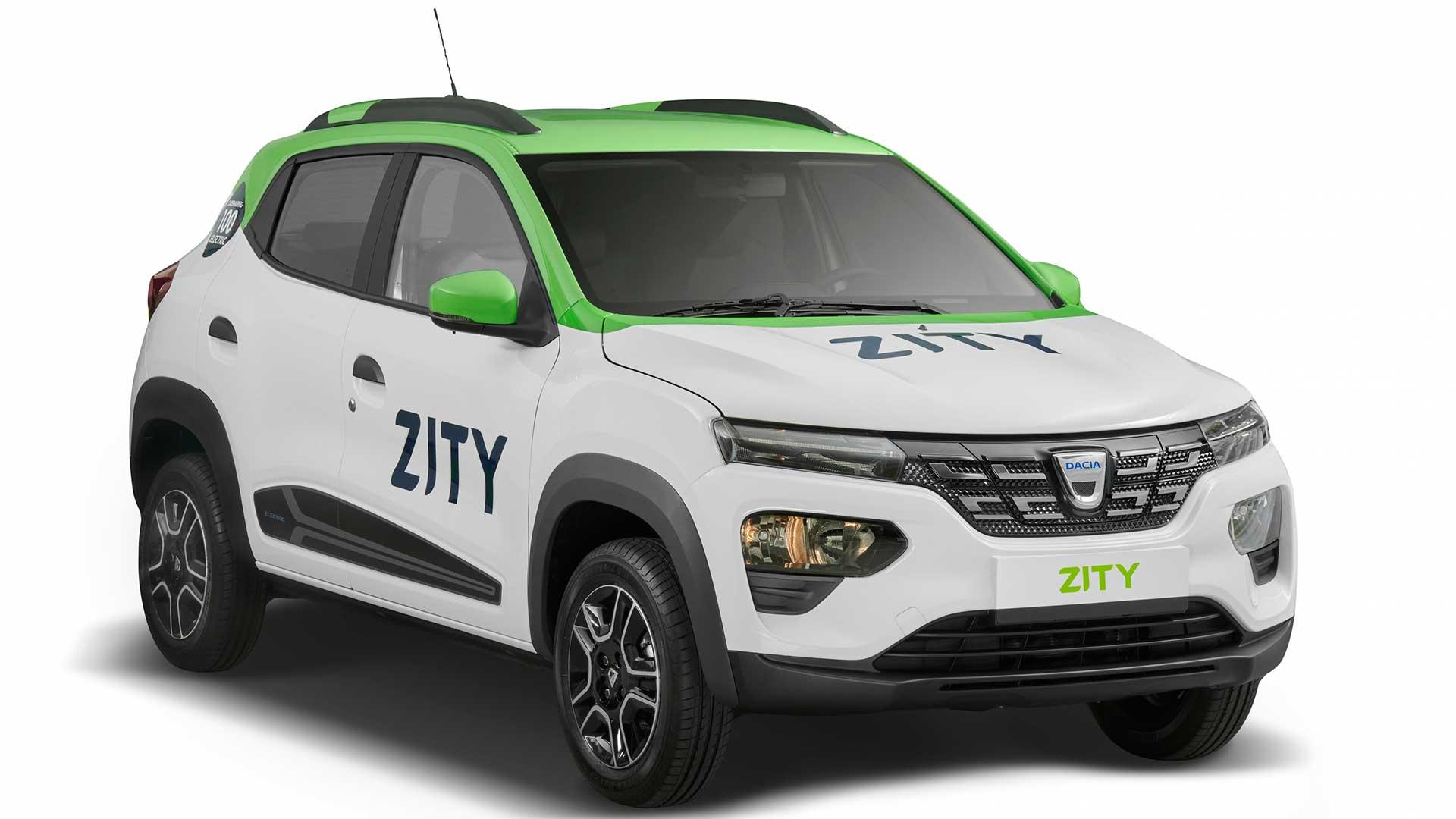 Zity by Mobilize ya cuenta con 150 Dacia Spring en París