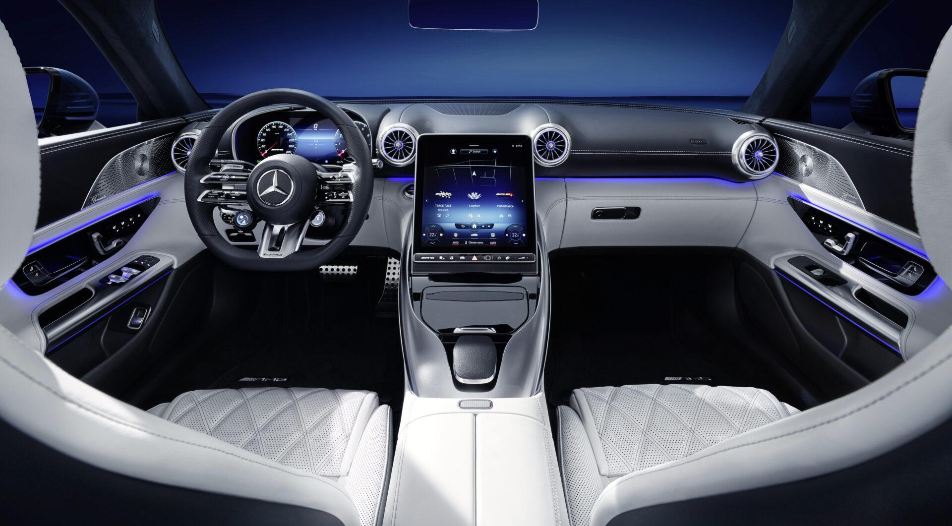 Mercedes-AMG SL interior
