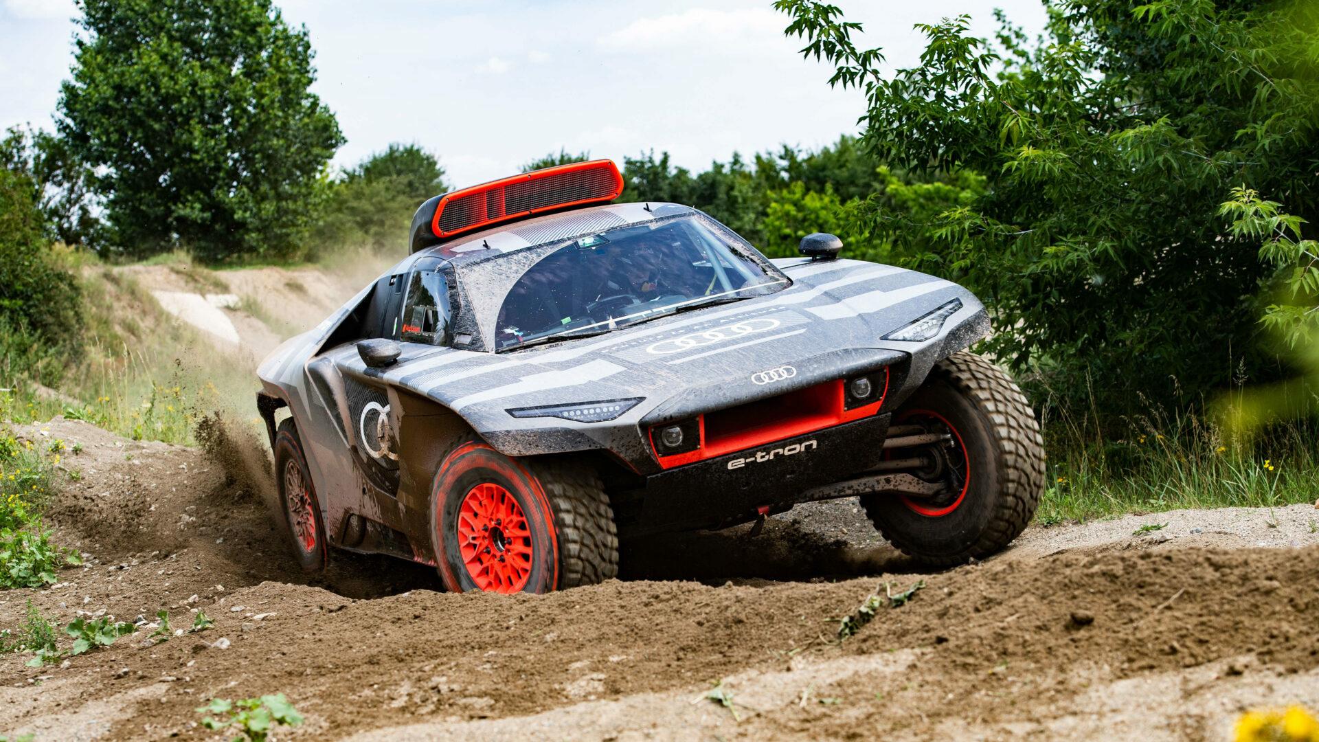 Fotos: el Audi RS Q e-tron del Dakar