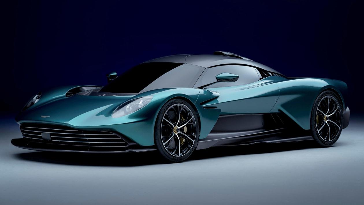Nuevo Aston Martin Valhalla: híbrido, enchufable y con motor Mercedes-AMG de 950 CV
