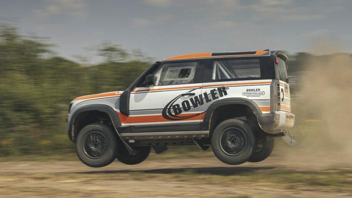 Bowler Defender: El nuevo Land Rover Defender ya tiene versión de rallyes