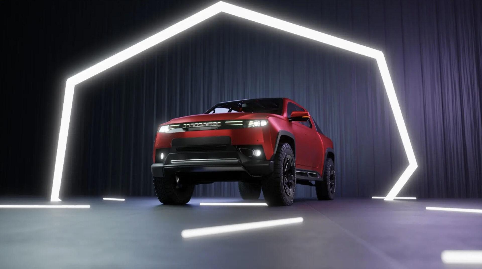 EcoPower Automotive, pick-up eléctrico