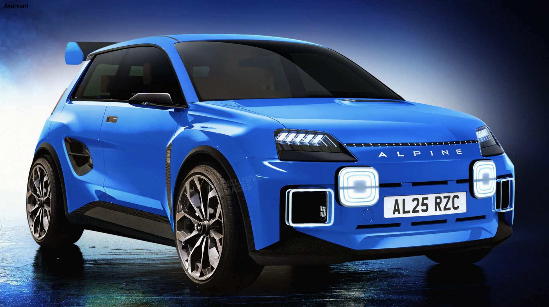 El sucesor del Renault 5 Turbo… será un Alpine eléctrico