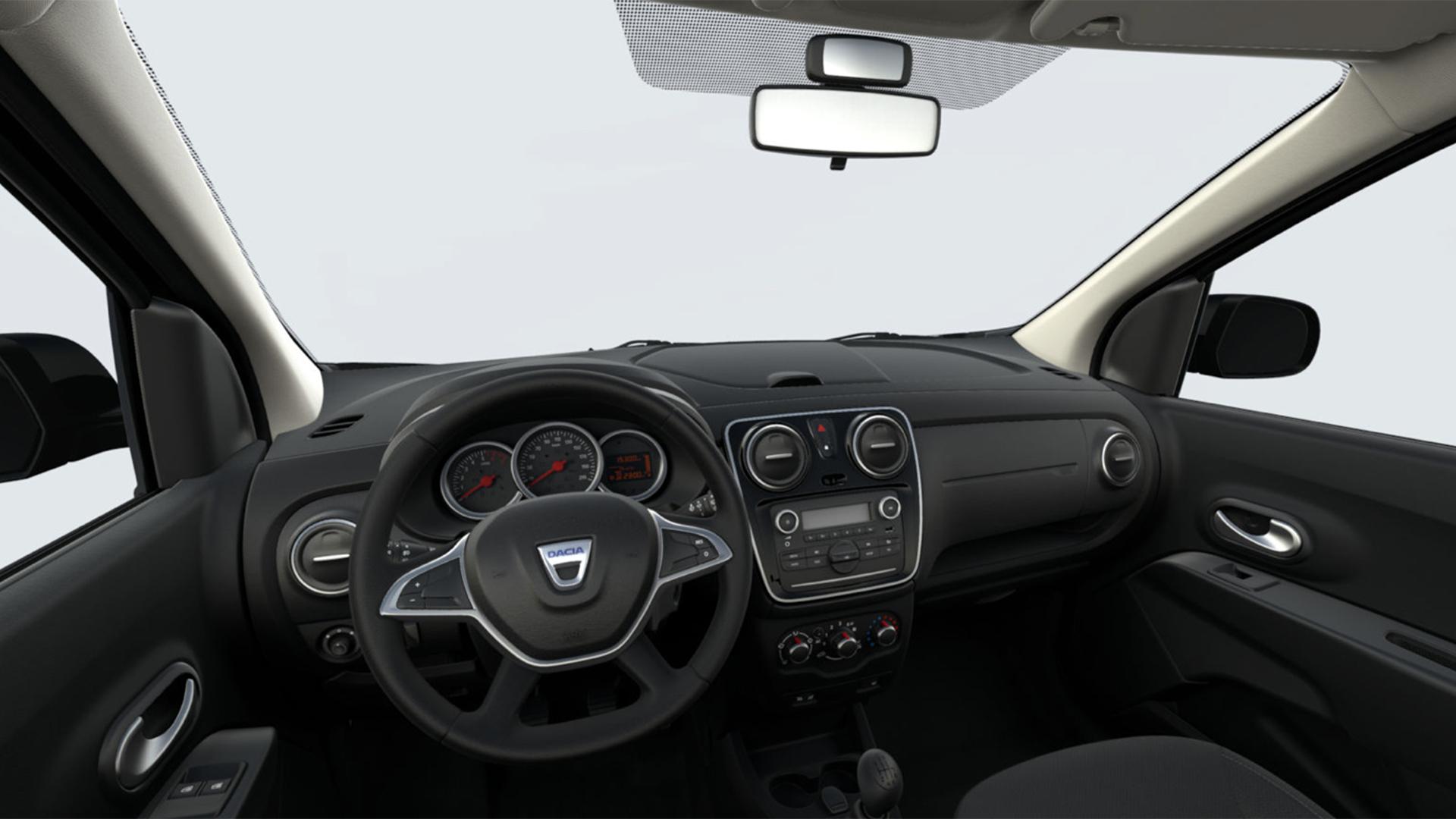 Dacia Lodgy interior