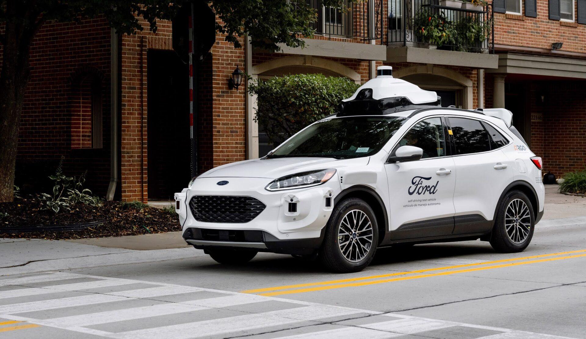 Ford Escape robotaxi