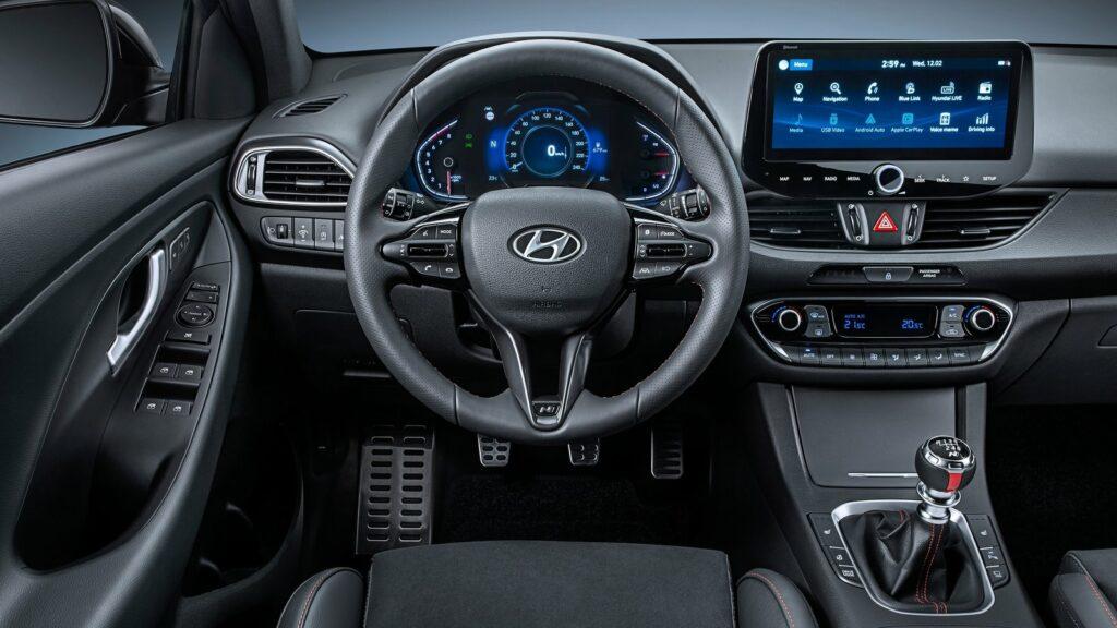 Hyundai i30 2021 interior