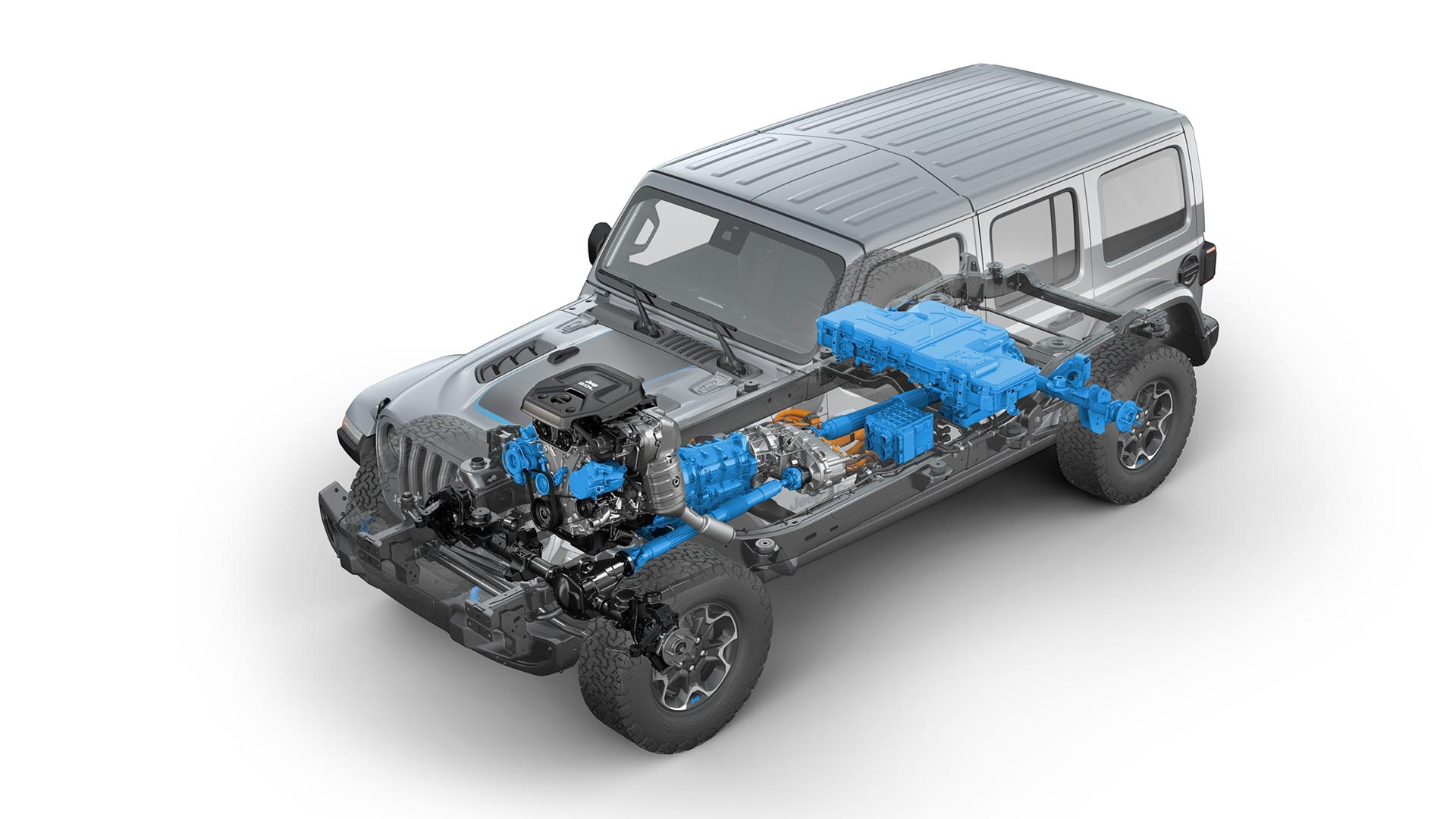 Jeep Wrangler 4xe vs. Land Rover Defender P400e: comparativa técnica