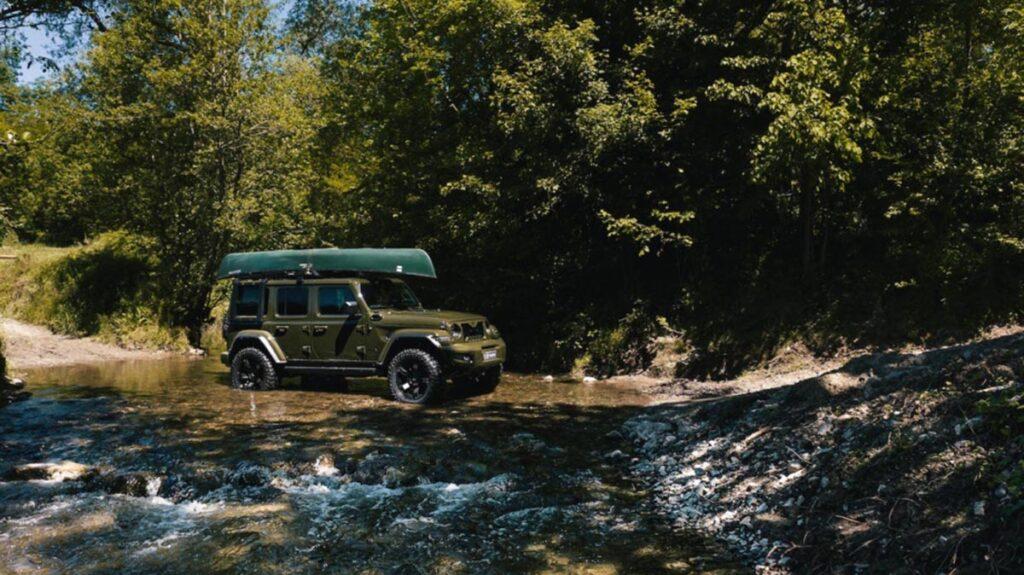 Jeep Wrangler preparado por Militem